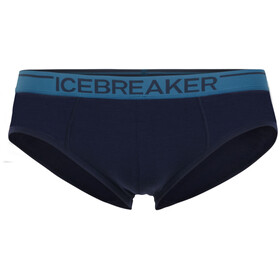 Icebreaker Anatomica Brief Men Midnight Navy/Granite Blue